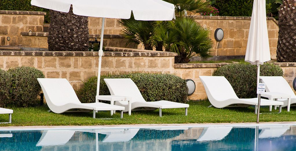 ...les séances de farniente au bord de la piscine vous feront un bien fou