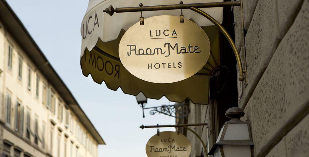 Le Room Mate Luca est un voyage à lui tout seul