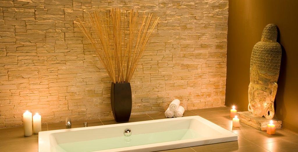 Hôtel haut de gamme avec spa, piscine intérieur et espace détente