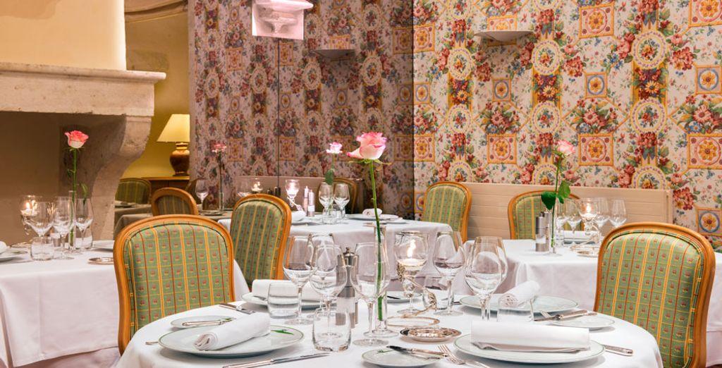 Et de vous attabler au restaurant L'Armaçon pour une expérience gastronomique