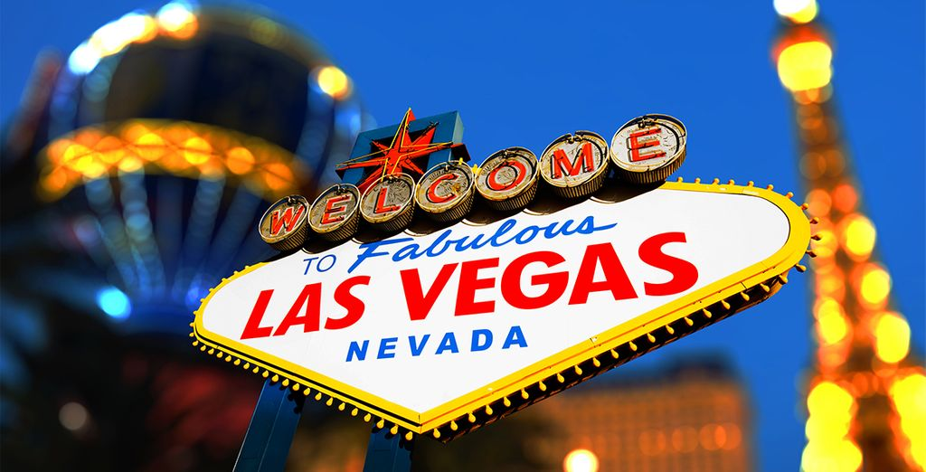Vous ferez une halte à Las Vegas