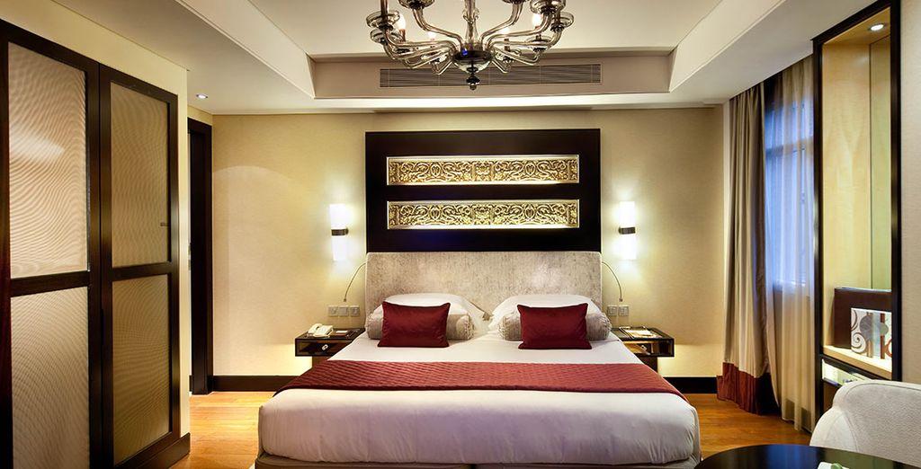 Installez-vous en chambre Superior... - Kempinski Hotel - Mall of the Emirates ***** Dubai