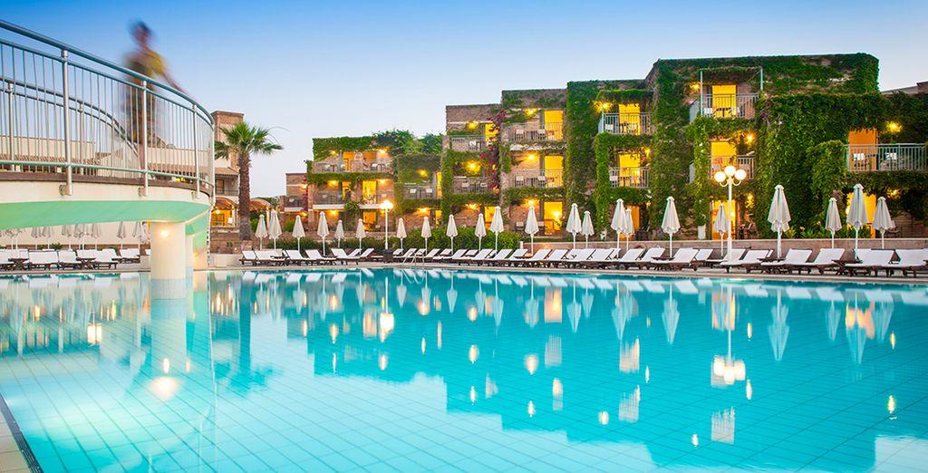 Bienvenue à l'hôtel Bella Beach...