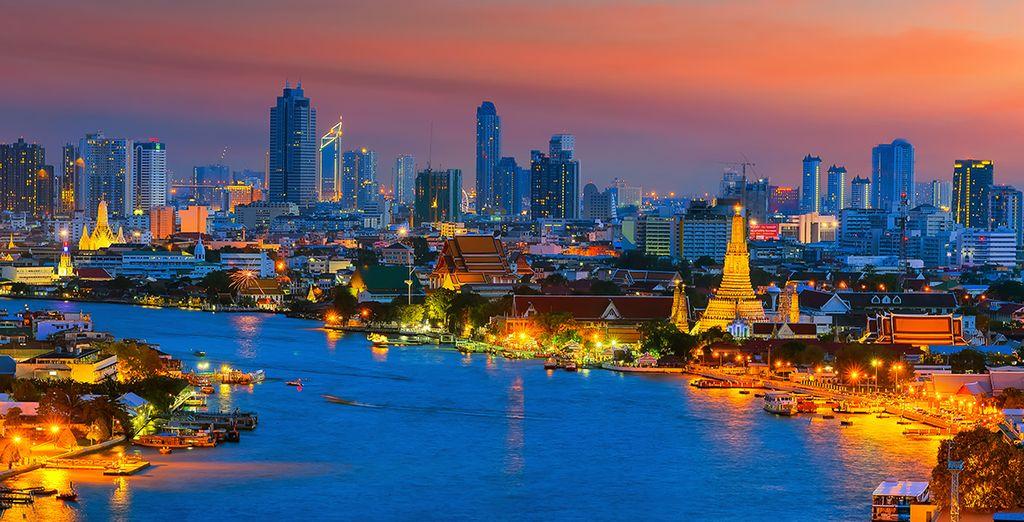 Découvrez la superbe ville de Bangkok