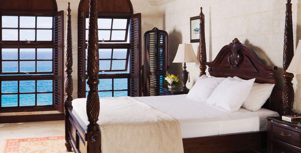 Ou dans la Suite 1 Chambre avec vue mer