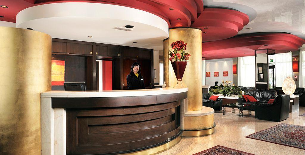 Mettez le cap sur l'hôtel Antony, un 4* situé à Venise Mestre