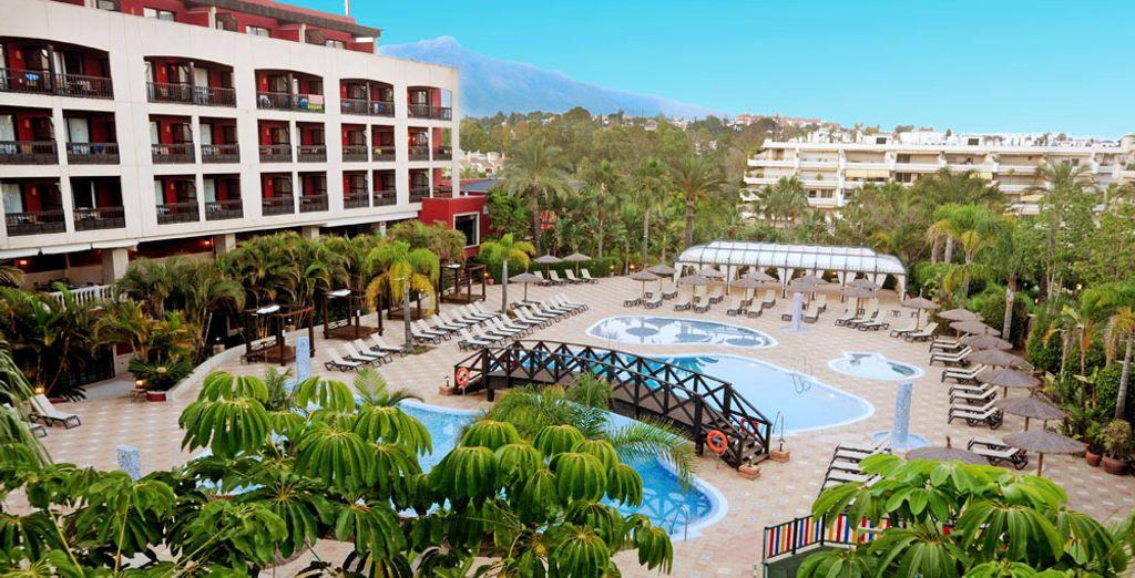 Vous logerez à l'hôtel Barcelo Marbella