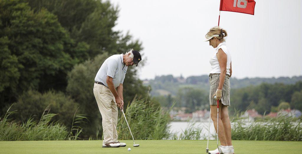 Ou encore vous initier au golf !