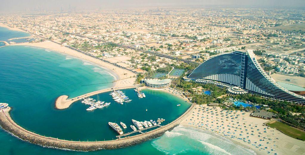 Votre séjour commence à Dubaï...