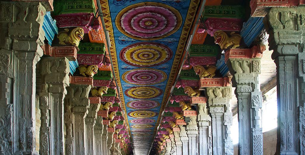 De la ferveur indienne dans les temples du Tamil Nadu... - Il était une fois l'Inde du Sud - 10 jours/9 nuits Chennai