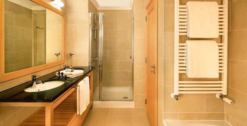 Et salle de bain moderne