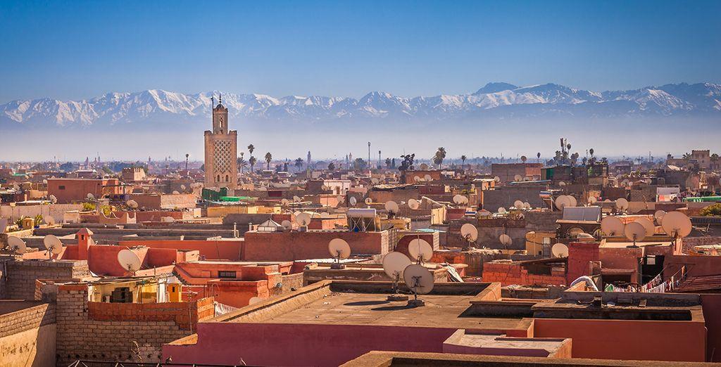 Tout commence ici à Marrakech...