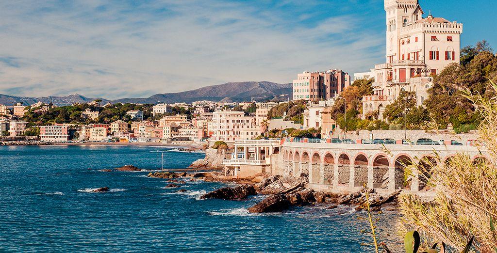 Bienvenue à l'hôtel Punta san Martino, près de Gênes !