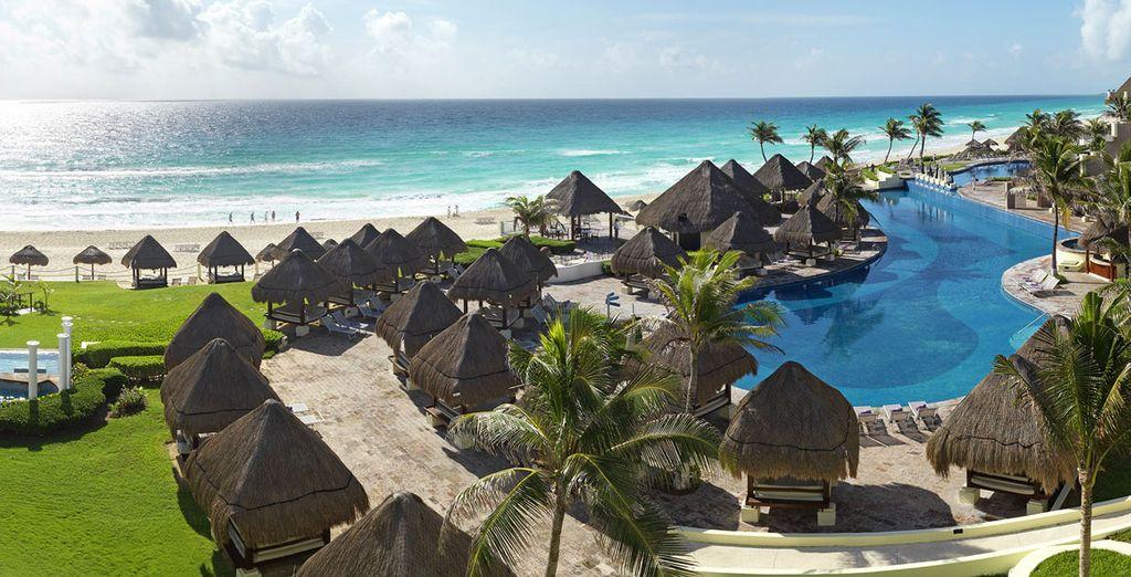 Finissez votre séjour en beauté direction  Cancún