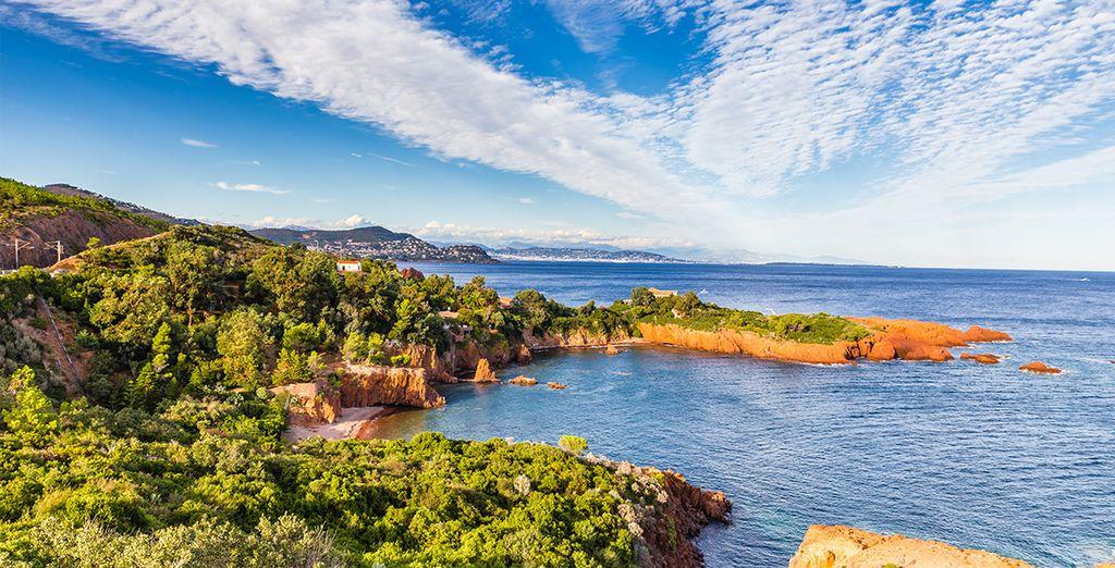 Alors rendez-vous à Saint-Raphaël au coeur de la Provence...