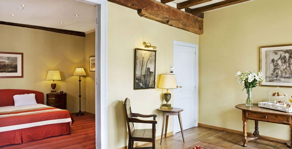 Pour toujours plus d'espace et de confort, optez pour un séjour en Suite