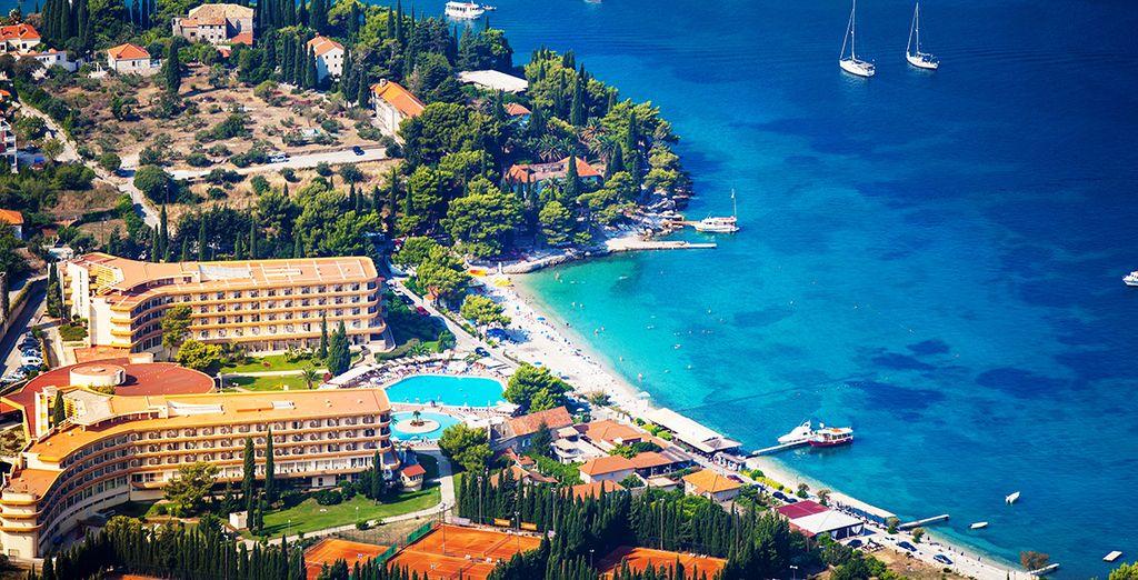 Bienvenue au Liburnia Riviera Hotel Albatros 4*...