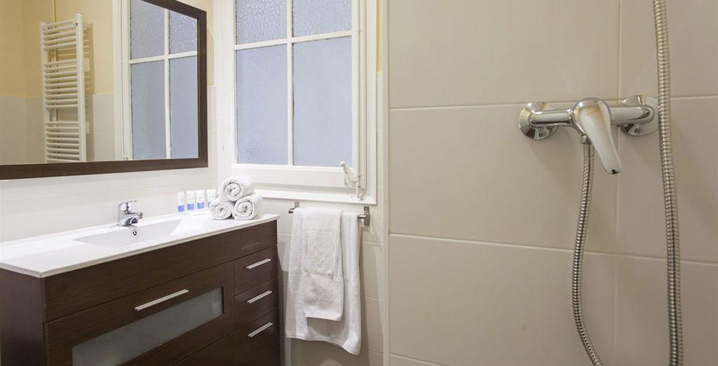 Appartement 5 : La salle-de-bains