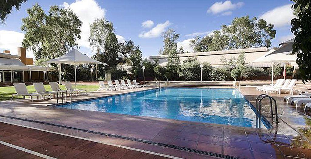 Hôtel au cœur de l'Australie