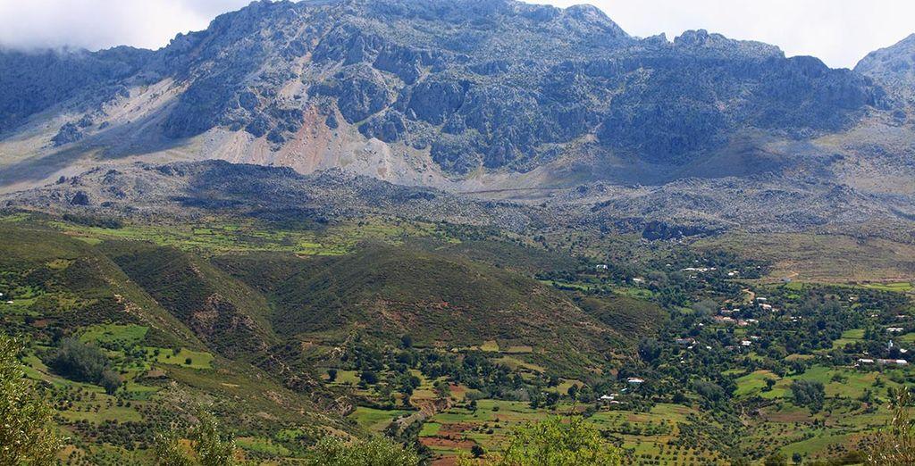 Enfin, visitez la vallée du Rif...