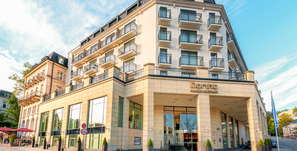 en séjournant à l'hôtel Dorint Maison Messmer - Dorint Maison Messmer 5* Baden-Baden