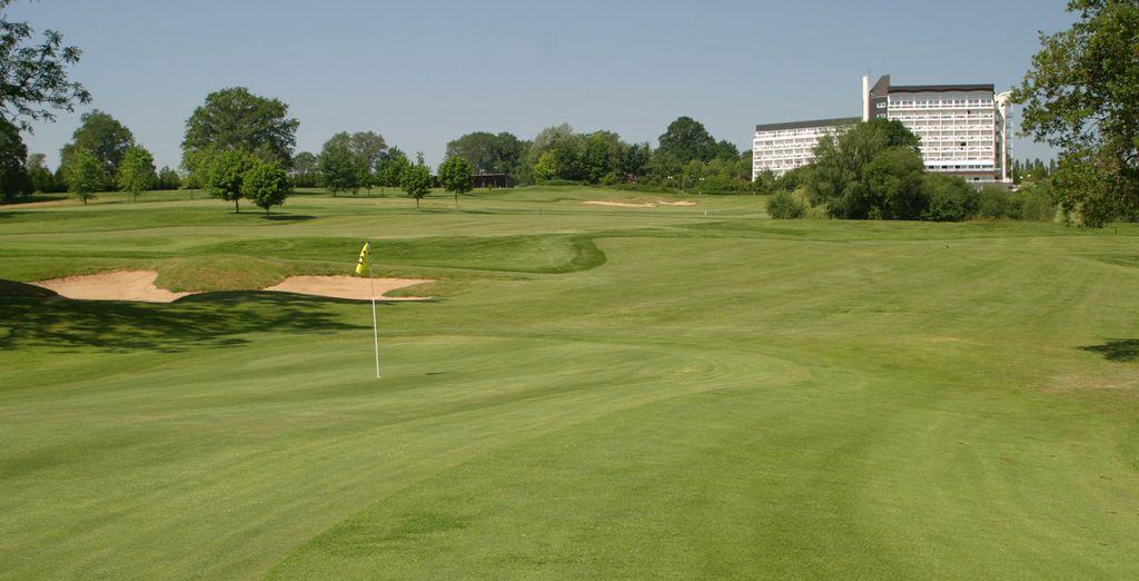 L'Hôtel Dryades Golf & Spa - Hôtel Dryades Golf & Spa**** Pouligny Notre Dame