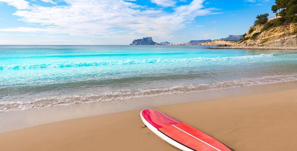 Avant de vous délasser sur l'une des plages de la région !