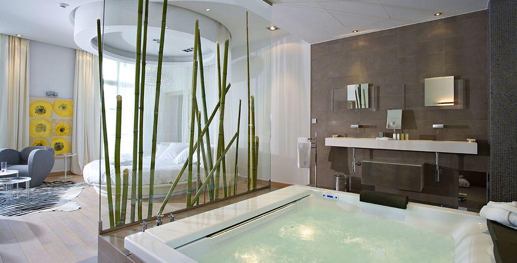 Hôtel de luxe avec spa, piscine privée et vue sur la garrigue