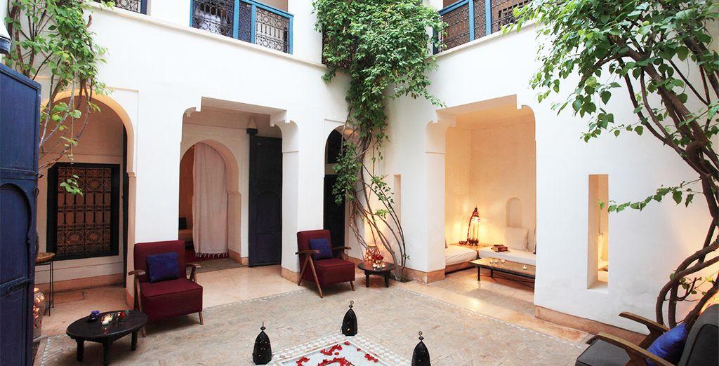 Et vivez l'expérience marocaine dans un cadre exceptionnel...