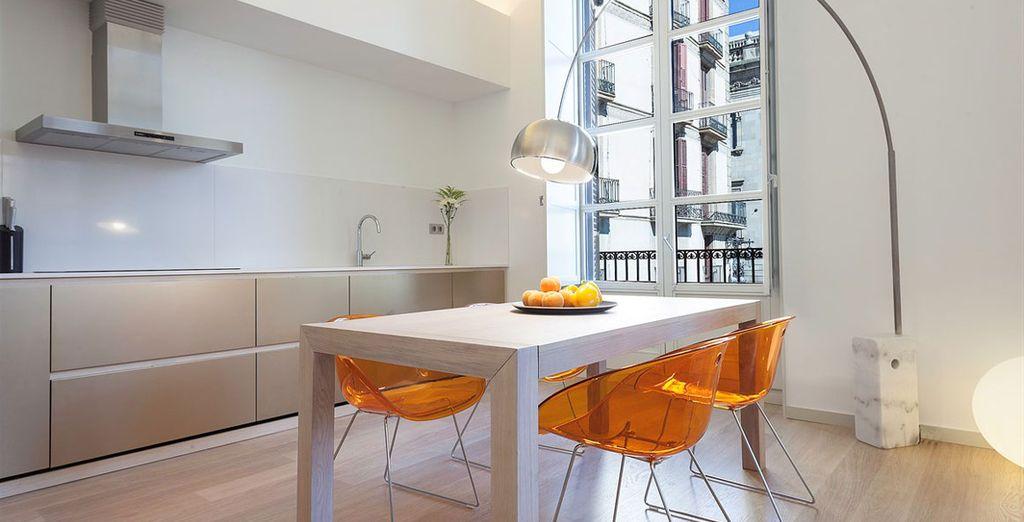 Appartement 1 : La cuisine