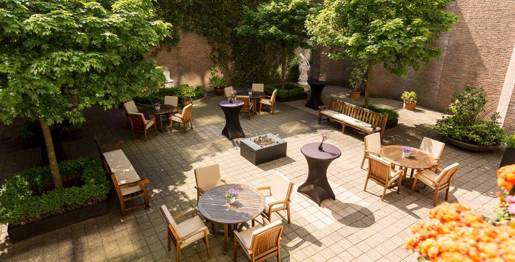 Ou du patio pour vous détendre