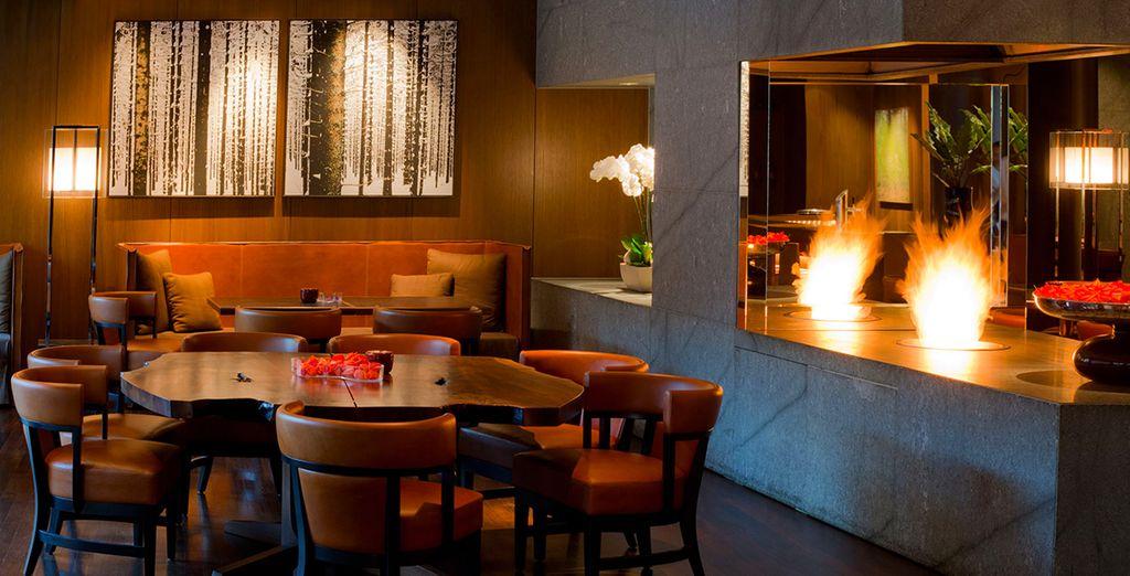 Côté restauration, vous aurez le choix entre le Tizian Lounge