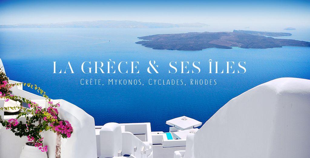 Réservez vite votre séjour en Grèce !