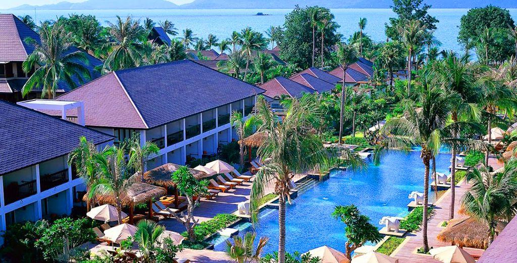 A l'hôtel Bandara Resort & Spa 4*