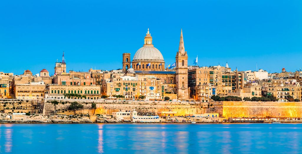 Photographie de Malte et de la ville de La Valette, ainsi que ses monuments
