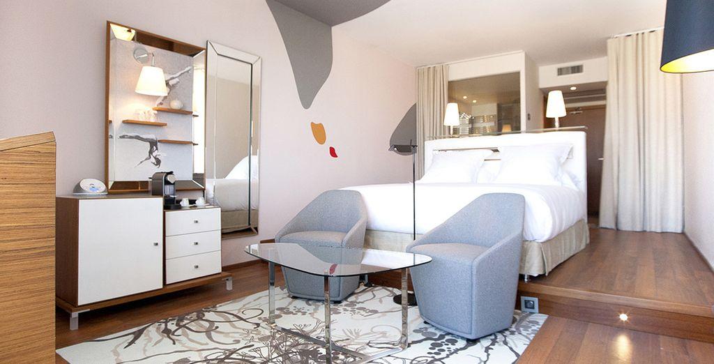 Chambres entièrement rénovées dans un style contemporain
