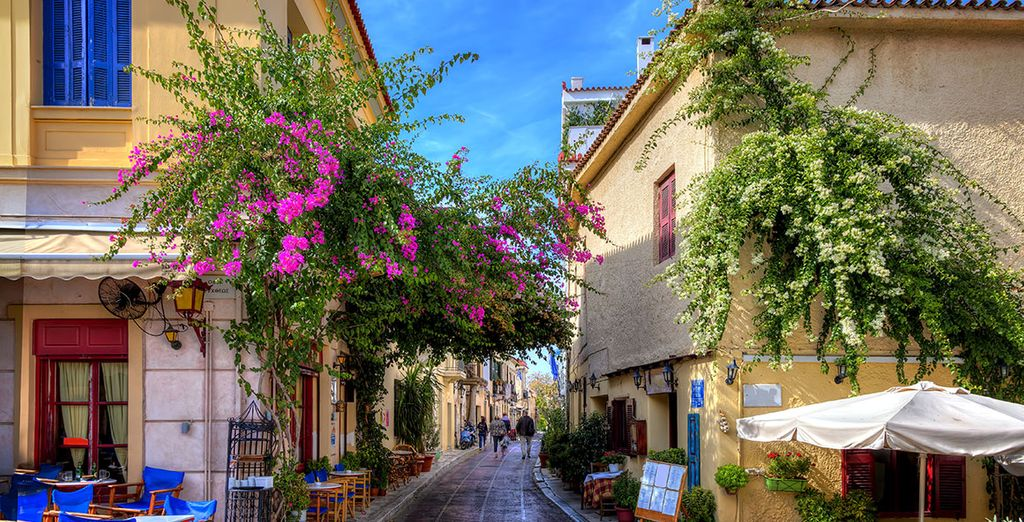...par le charme d'Athènes
