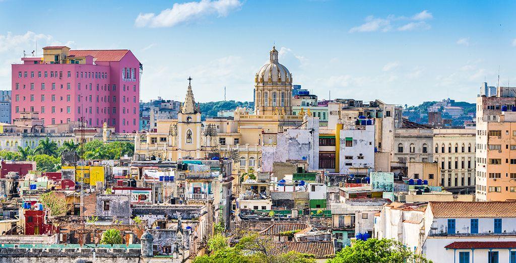 Vue sur la Havane au Cuba