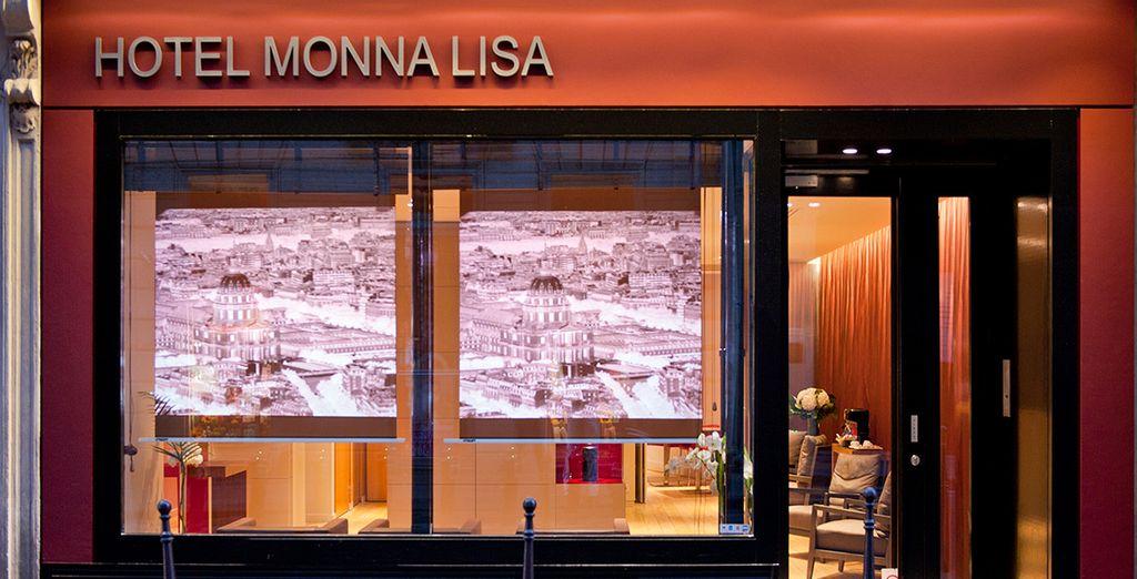 le temps d'un city-break à l'hôtel Monna Lisa - Hôtel Monna Lisa 4* Paris