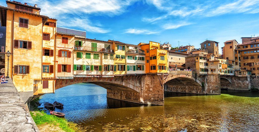 Partez ensuite découvrir les merveilles de Florence...