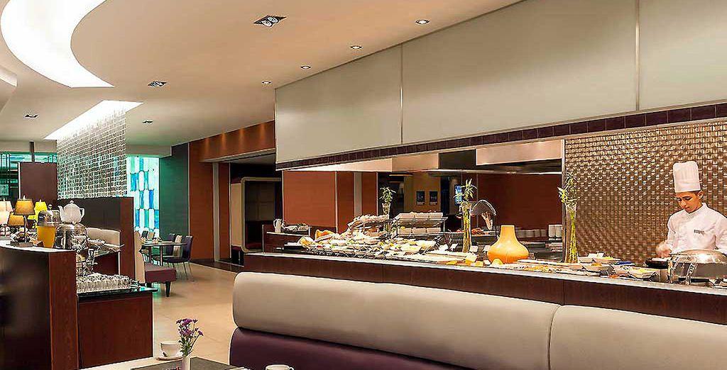 Au sein de l'hôtel, goûtez au meilleur de la cuisine turque...