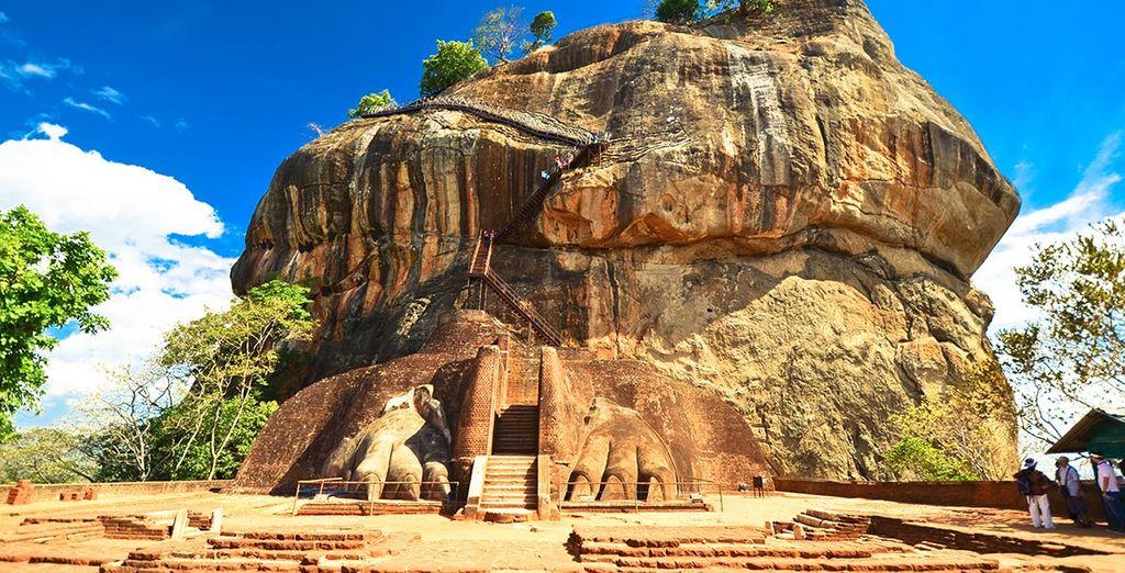 A commencer par la forteresse de Sigiriya...