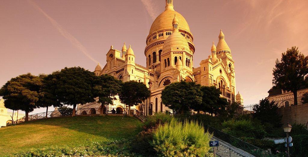 Photographie du monument du sacré-cœur à Paris