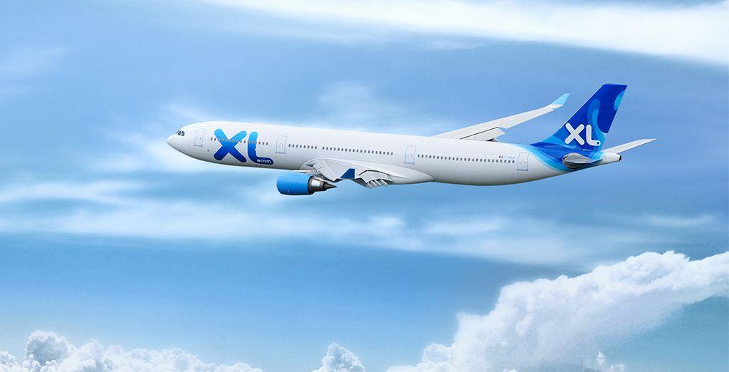 Choisissez de rejoindre la Guadeloupe en vol direct direct avec XL Airways au départ de Paris