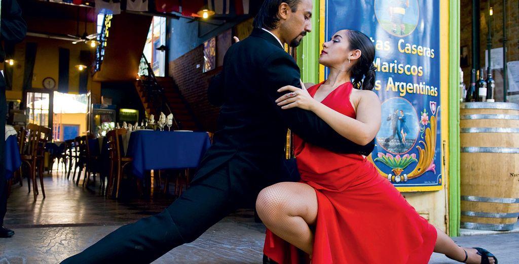 Et assisterez même à une soirée dîner-spectacle Tango