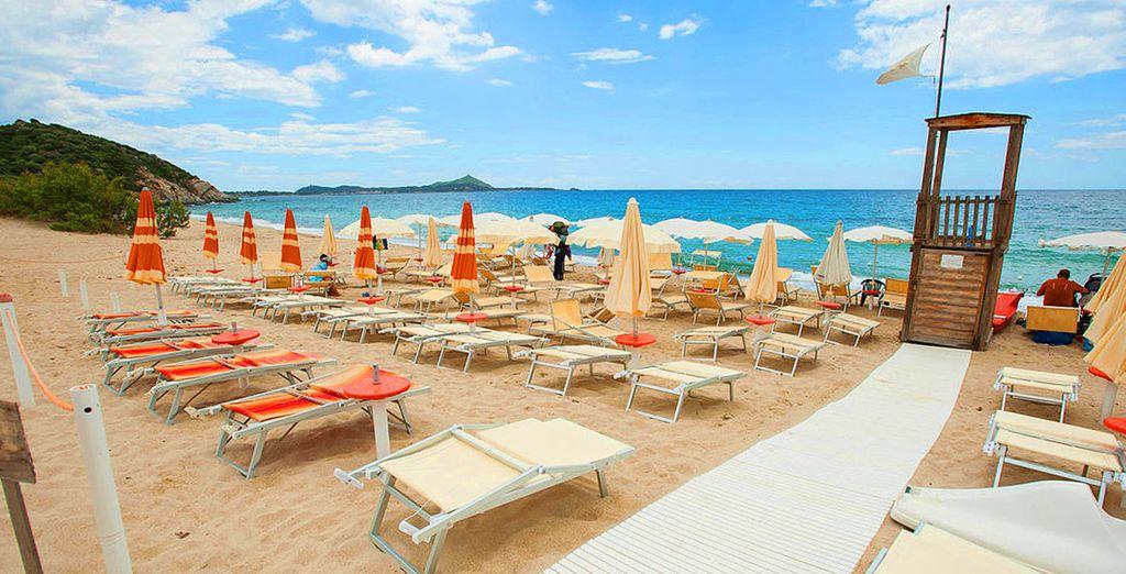 Ou sur le sable chaud de la plage...