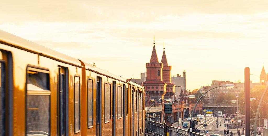 Dans l'un des quartiers les plus tendance de la capitale allemande !