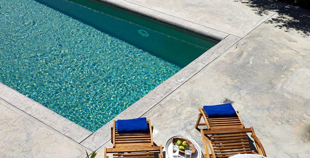 Profitez d'une baignade rafraîchissante - Kea Villas Resort 4* Kea