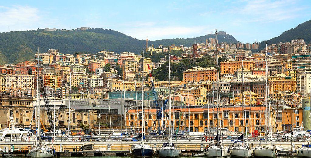 Vous serez ravis de decouvrir la belle Gênes. Bon séjour !