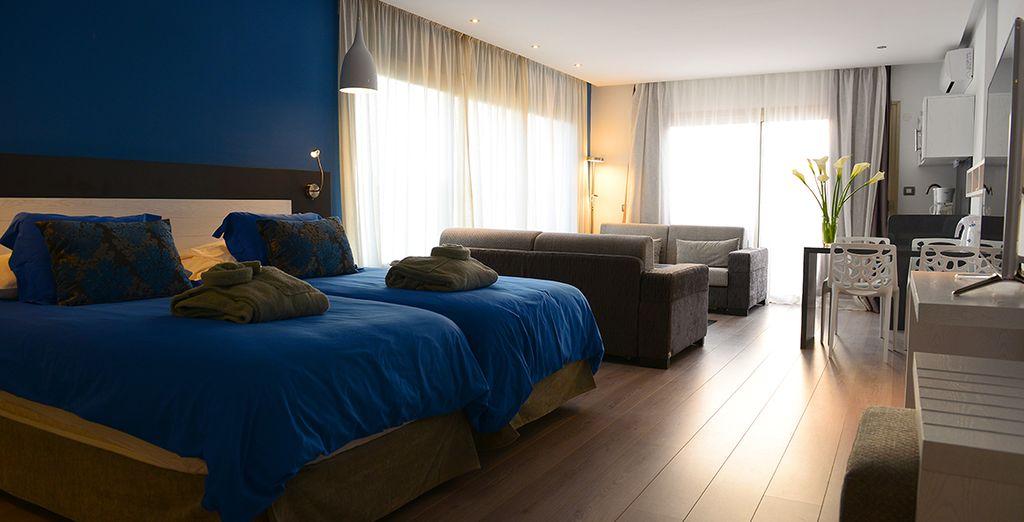Durant votre séjour vous serez hébergé en Suite... - Hôtel Servatur Casablanca 4* Puerto Rico